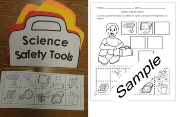 Science Safety Tools English and  Spanish Activities Cscop