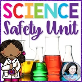 Science Safety Unit- Posters, Activities, Foldables, Scoot