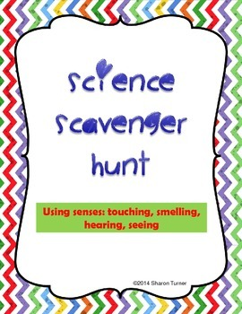 Science Scavenger Hunt (Outdoor hands-on learning experience)