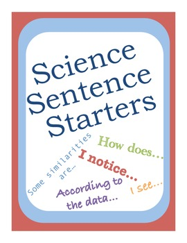 sentence starters for writing Story starters: powerful sentences this writing prompt generator was one of the first twenty-one interactive word games presented at the original writingfix in.