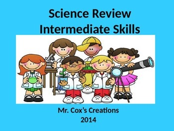 Science Review - Intermediate Level, cells, solar system,