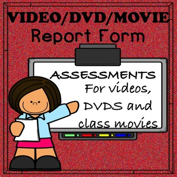 VIDEO, DVD and Movie Forms for Science, Social Studies