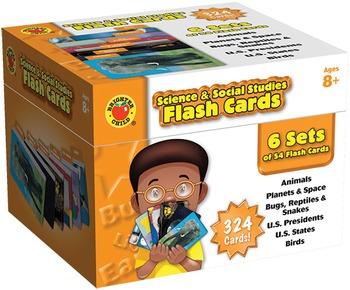 Science & Social StudiesFlash Cards SALE 20% OFF! 734014