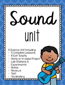Science - Sound unit