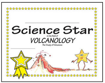 Science Star Certificates - Earth Sciences ♥ BUNDLE ♥