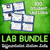 Science Station Lab Bundle - 65 Differentiated Science Labs