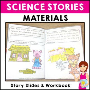 STEM Science Story Materials Short story slides and activi
