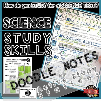Science Study Skills Stations and Notes