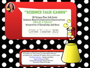 Science Talk Cards in Color