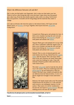 Science Task about Soil
