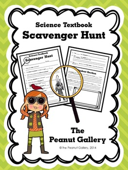 Science Textbook Scavenger Hunt