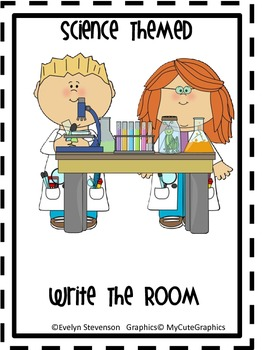 Science Themed Write the Room