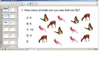 Science, Third Grade, All review smart board senteo quiz,