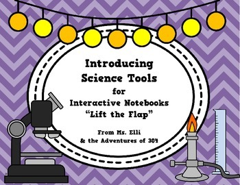 """Science Tools - Interactive Notebook """"Flaps"""""""