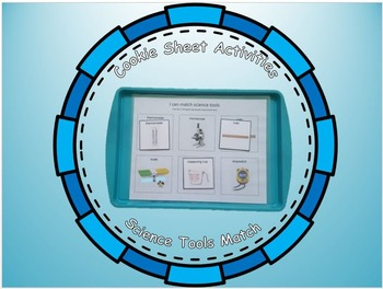 Science Tools Match: Cookie Sheet Activity
