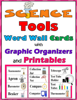 Science Tools Illustrated Science Word Wall & Graphic Orga