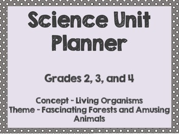 Science Unit & Lesson Plans: Plant and Animal Adaptation a