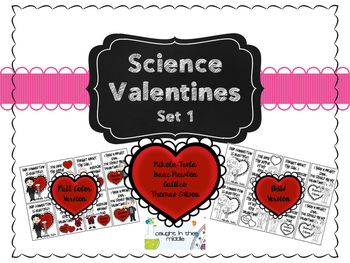 Science Valentines Set 1