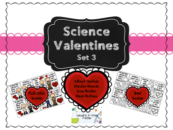Science Valentines Set 3