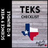 Science Vertical TEKS Checklist High School