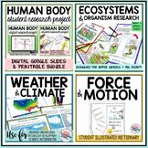 Science Illustrated Student Activity Notebooks Bundle Stud