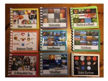 Science Vocabulary Books