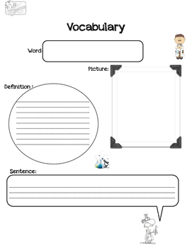 Science Vocabulary Center