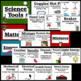 Fifth Grade Science Vocabulary Word Wall Cards