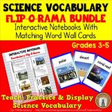 Science Vocabulary Interactive Notebook Bundle