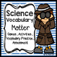 Science Vocabulary - Matter