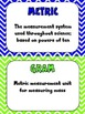Science Vocabulary Word Wall Cards Physical Chevron