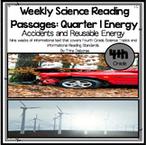 Energy:Test Prep With Science Weekly Reading Passages