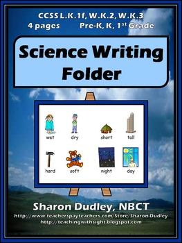 Science Writing Folder