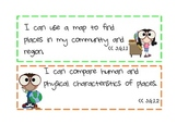 Science and Social Studies I Can Statements-3rd Grade