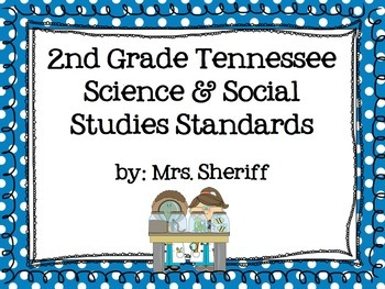 Science and Social Studies I Can Statements for 2nd Grade
