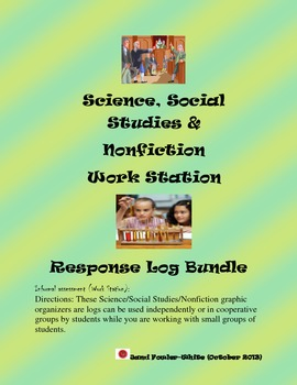 Science and Social Studies-Work Station Response Log