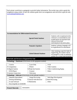 Science and Technology for grades 4th, 5th, 6th, 7th, and 8th