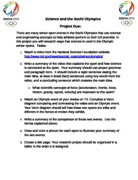 Science and the Sochi Olympics