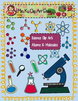 Science clip art: Molecules & Atoms