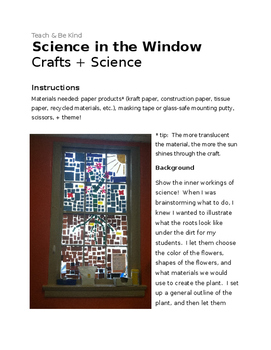 Science in the Window