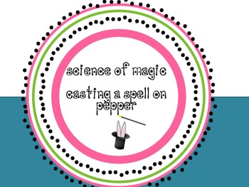 Science of Magic :  Using the Nature of Science to Investi