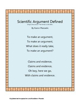 """""""Scientific Argument Defined"""""""