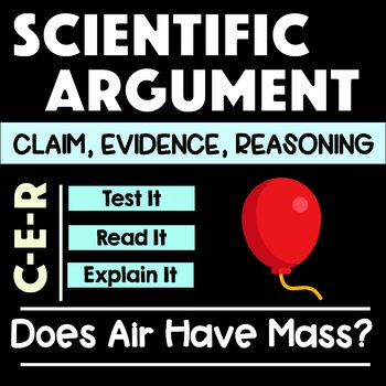Claim, Evidence, Reasoning - Scientific Argument - Does Ai