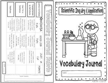 Scientific Inquiry Vocabulary Journal