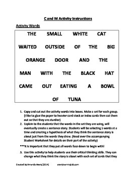 Fun Critical Thinking Activity: Hypotheses developed from
