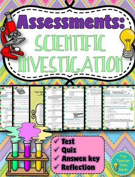 Scientific Investigation Unit Assessments (21 pages)