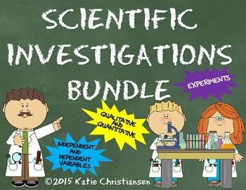Scientific Investigations Bundle