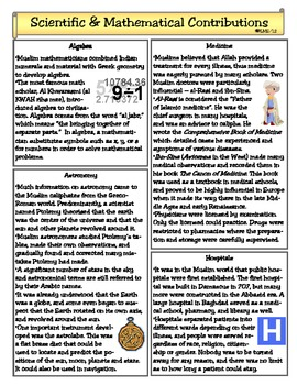 Scientific & Mathematical Contributions of the Abbasid Era