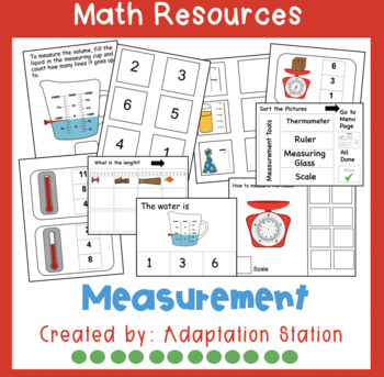 Scientific Measurement Adapted Unit for Special Education-VAAP!