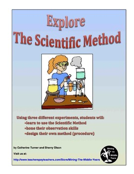Scientific Method Experiments -  an introduction to proces